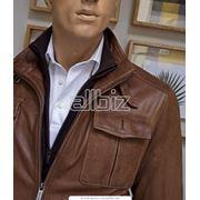 Куртки мужские из натуральной кожи фото