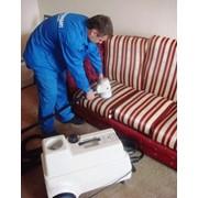 Услуги по профессиональной химчистке мягкой мебели фото