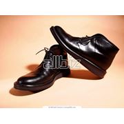 Ботинки мужские кожаные фото