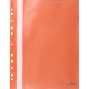 Папка-скоросшиватель с европланкой, ф.А4, оранжевая, (INDEX) фото