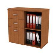 Шкаф с ящиками комбинированный фото