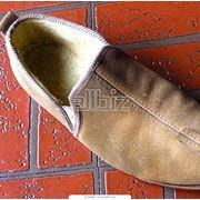 Обувь домашняя мужская фото