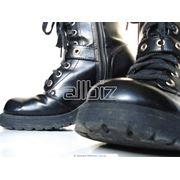 Сапоги мужские кожаные фото