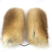 Меховые Варежки из лисицы фото