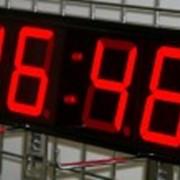 Часы табло К-100м. фото