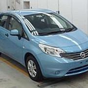 Хэтчбек NISSAN NOTE кузов E12 пробег 41 тыс км цвет светло-синий фото