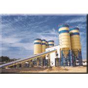Бетонный завод стационарный ленточный 120куб/час фото