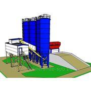 Завод бетонных смесей фото