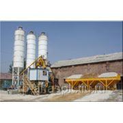 Бетонный завод стационарный скиповый 50 куб/час фото