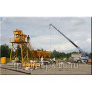 Стац. мини-бетонный завод 25 куб.м эконом класса фото