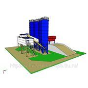 Бетонный завод РБУ фото