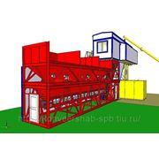 Строительство бетонного завода фото