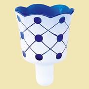 Лампада №2М (синяя). Арт.Ст.721 фото