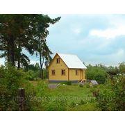 Каркасно-щитовой дом 6х6 с мансардой .Проект 1К фото