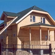 Проект дома из бруса ПдС-1-37 фото