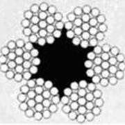Трос стальной в смазке ГОСТ 2688 (6х19) ф13,0 фото