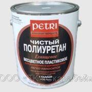 PETRI DIAMOND HARD (ПЕТРИ ЧИСТЫЙ ПОЛИУРЕТАН), глянцевый, 3,8 л - лак для пола и мебели фото