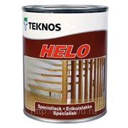 Полиуретановый лак Helo, п/глянц., 0,9л,Teknos фото