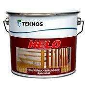 Полиуретановый лак Helo, п/глянц., 2,7л,Teknos фото