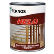 Полиуретановый лак Helo, мат., 0,9л,Teknos фото