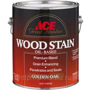 Морилка Wood Stain (орех) 0,9л, мат., Ace фото