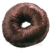 Dewal Валик круглый из искуств.волоса - 8 см 5115-коричневый фото