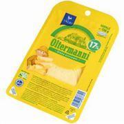Полутвердый сыр Олтерманни нарезка 17% 015 кг фото