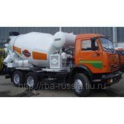 Автобетоносмеситель 69361Н на Камаз 65115 Tigarbo укороченный фото