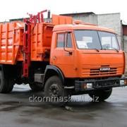 Мусоровоз МКМ-4503 18 куб.м. фото