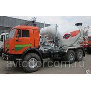 Автобетоносмеситель 5DA на шасси КАМАЗ-43118 марки «Тигарбо» фото