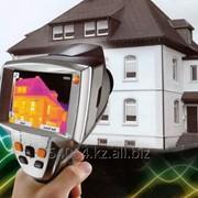 Услуга тепловизионное обследование коттеджа, энергоаудит фото