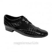 Обувь мужская для танцев стандарт модель № 166 фото