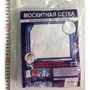 Москитная сетка для окон с крепежной лентой 1,3х1,5м, в пакете фото