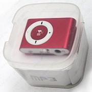 MP3 плеер металлический (Красный) фото