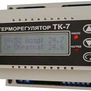 Терморегулятор ТК-7 3-канальный 0-90С фото