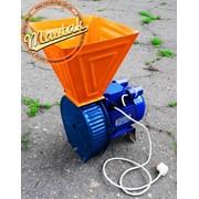 Электрический измельчитель зерна, зернодробилка с двигателем фото