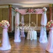 Оформление залов живыми цветами фото