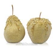 Декор Яблоко/груша золото фото