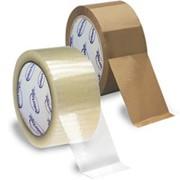 Упаковочная клейкая лента фото