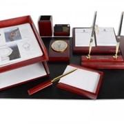 Набор настольный Delucci на 9 предметов с часами 19201 фото