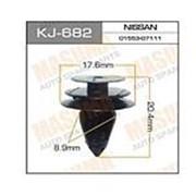 Клипса пластмассовая KJ-682 фото