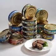 Консервы (мясо, рыба, птица) фото
