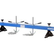 Универсальная опора для вывешивания двигателя и КПП на крыльях