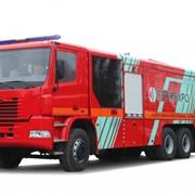Автоцистерна пожарная КрАЗ Н23.2 АЦ 13-70 фото