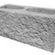 Декоративный блок серый  фото