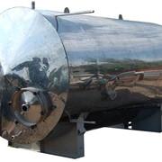 Горизонтальный цельносварный аппарат с коническим неотбортованным днищем типа ГКК фото