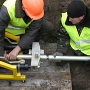 Строительство и ремонт подземных коммуникаций. фото