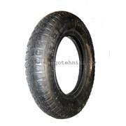 Шина/покрышка 3.50-4 колеса тачки/тележки садовой, строительной фото