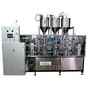 Дозировочно-упаковочный автомат линейного типадозирования до 1000 мл и производительностью от 5000 доз/час) фото