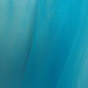 Ткань Фатин Голубой мягкий/жесткий фото